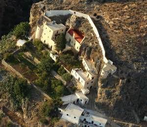 Kapsa Monastery Southern Crete