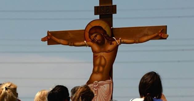 Crucifixion of Jesus Christ.