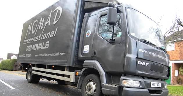 Nomad Daf Truck.