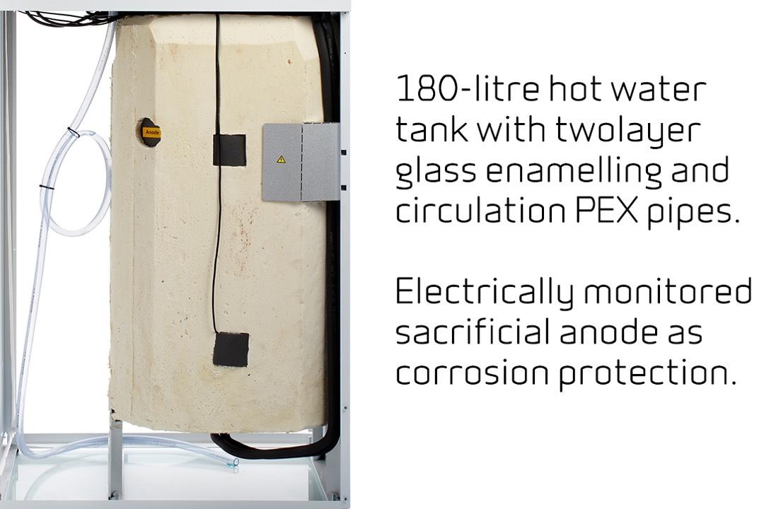 Compact P - 180-liter boiler