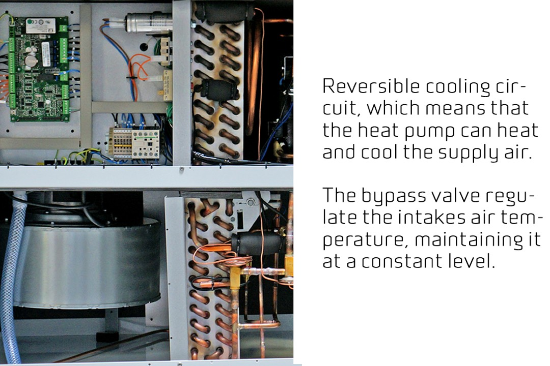 Nilan VPL 28 verwarming en koeling