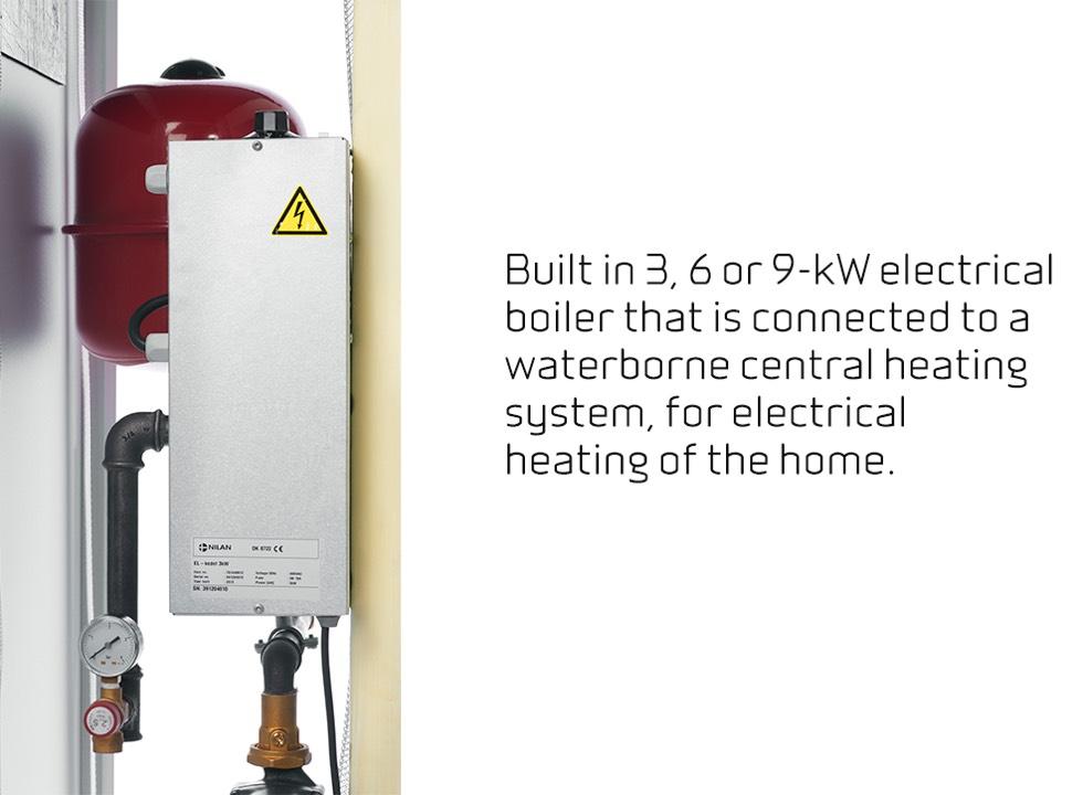 Compact P EK built in electrical boiler