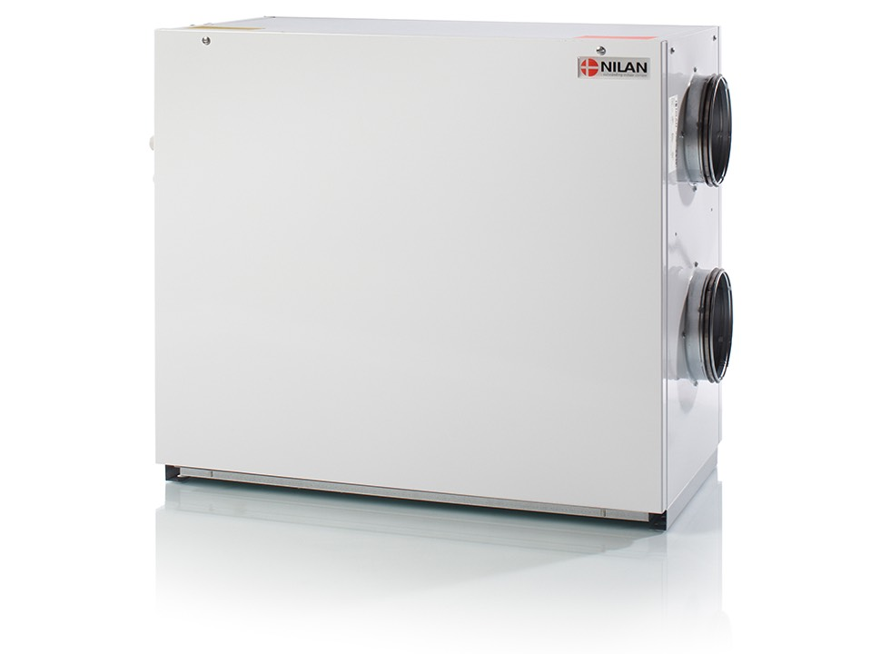 Nilan VPL 15 ventilatie warmtepomp