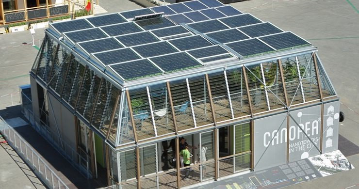Solar Decathlon 2012 met de AIR 9 ventilatie warmtepomp