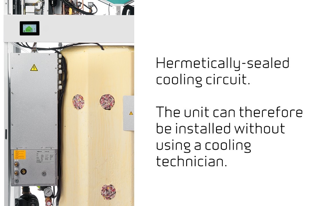 GEO - Hermetically-sealed cooling circui