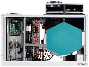 Award Nilan Combi 302 Top Polar ventilatie warmtepomp.