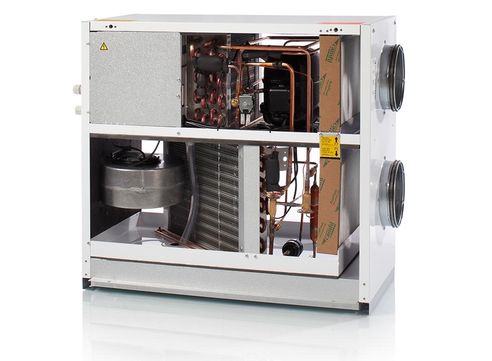 De Nilan VPL 15 ventilatie warmtepomp