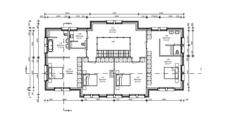 Makrigialos villa first floor