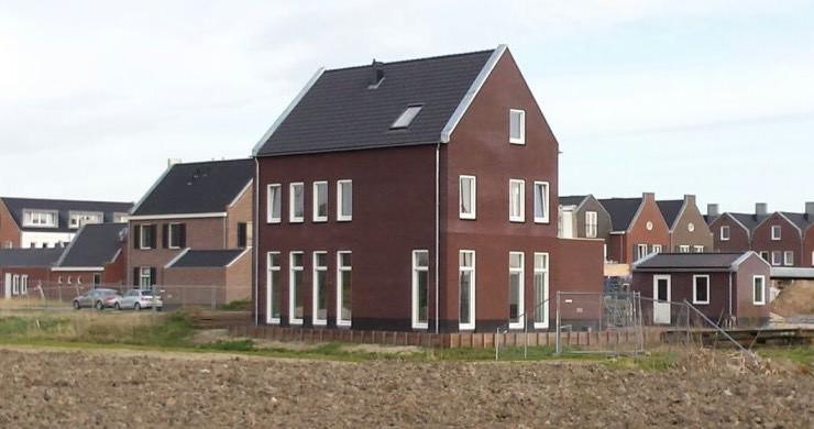 Woningen voorzien van aardwarmte.