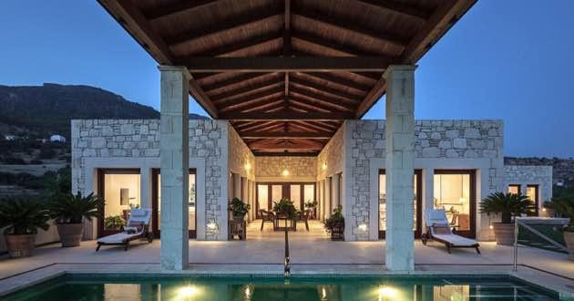 Villa Casa dei Mezzo in Makrigialos, East Crete.