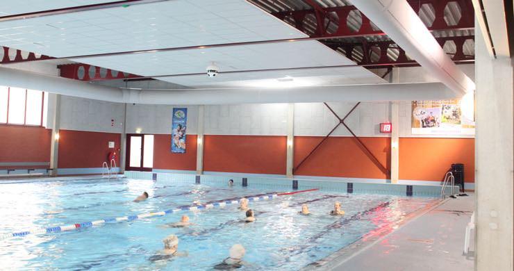 Restwarmte zwembad