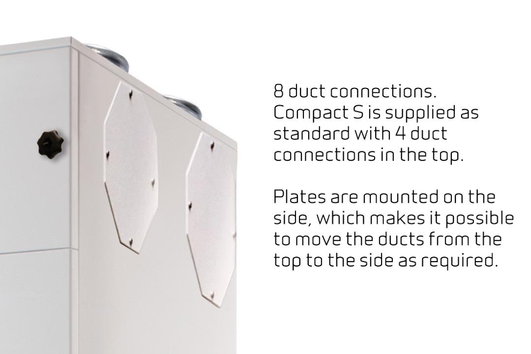 EN-5 Compact S - luchtkanalen