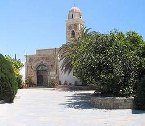 Toplou Museum Entrance
