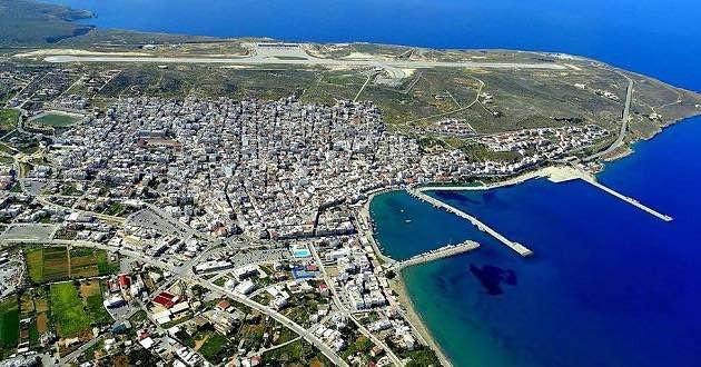 Beautiful Sitia in East Crete.