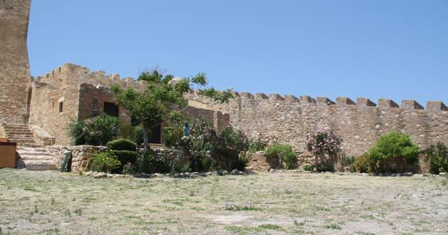 Inside the Kazarma fort in Sitia.