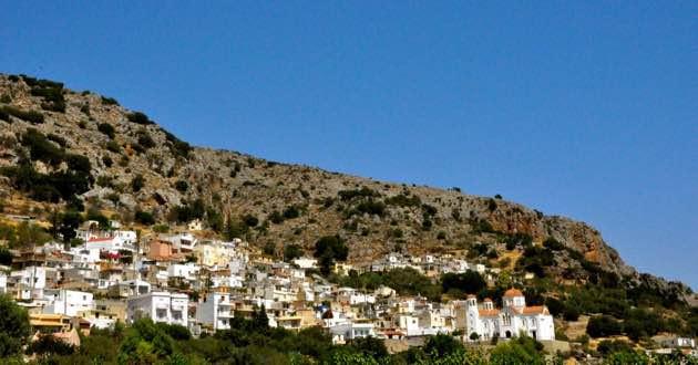 Raki with mezes in East Crete.