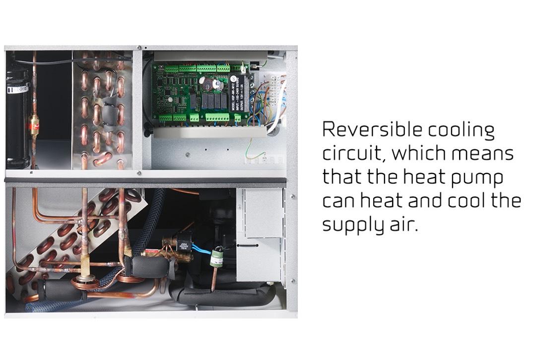 Nilan VPL 15 Top M2 comfort koeling en v
