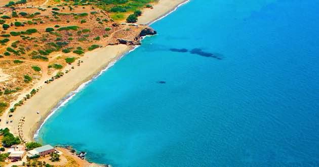 Diaskari and Lagada beach.