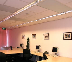 Infrarood verwarming kantoren