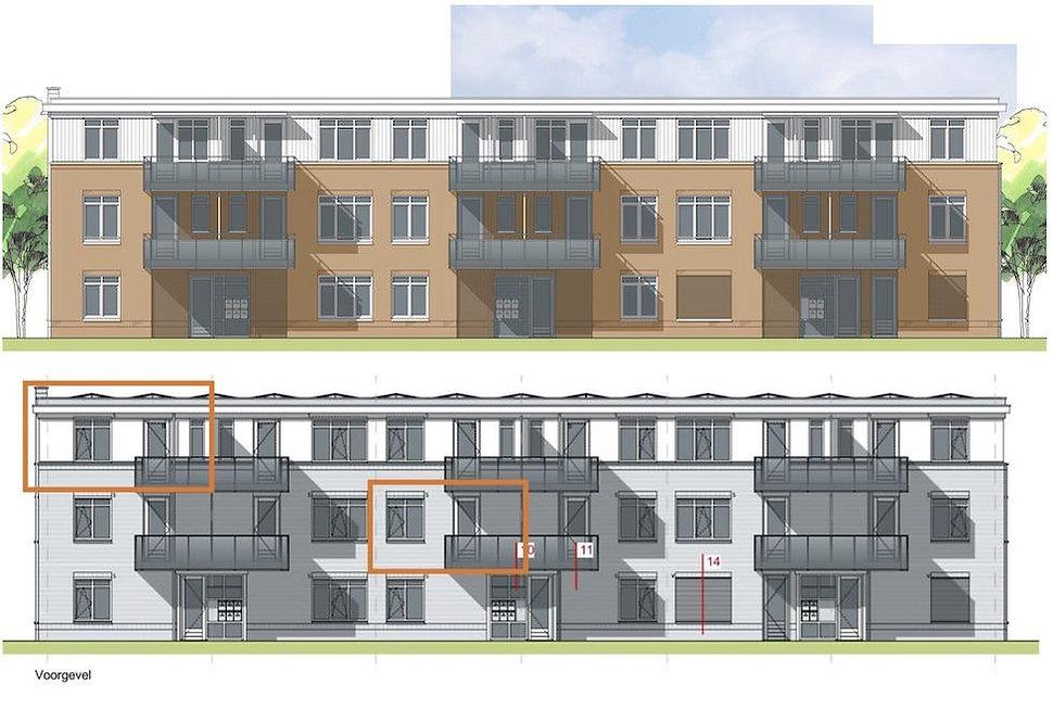 Appartementen met een ventilatie warmtep