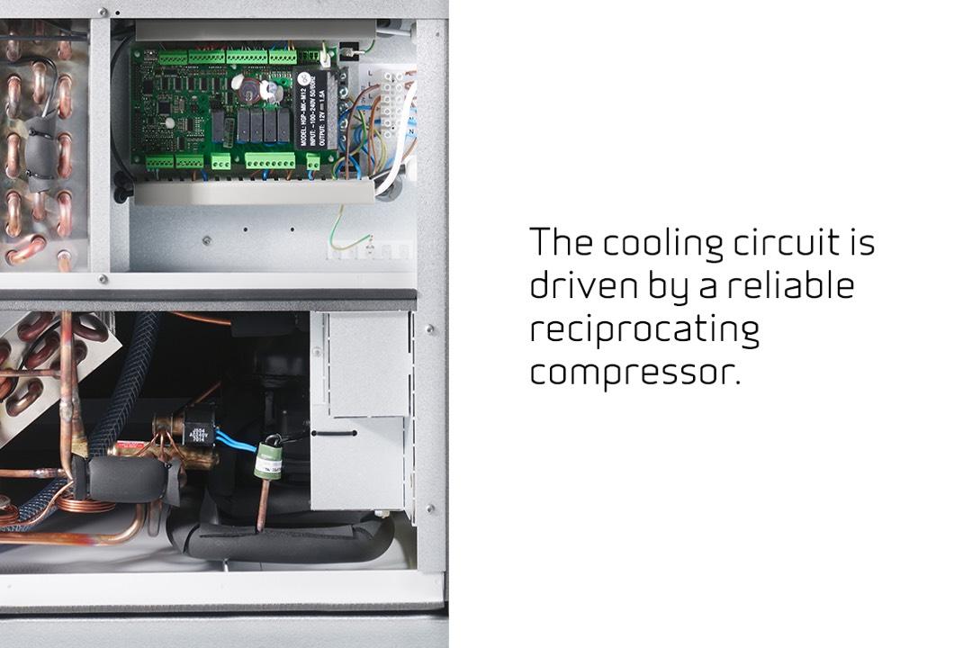 Nilan VPL 15 Top M2 compressor