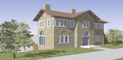 Makrigialos Villa east view