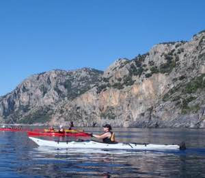 Kayaking East Crete