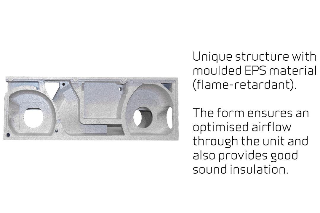 Comfort CT 150 met EPS behuizing