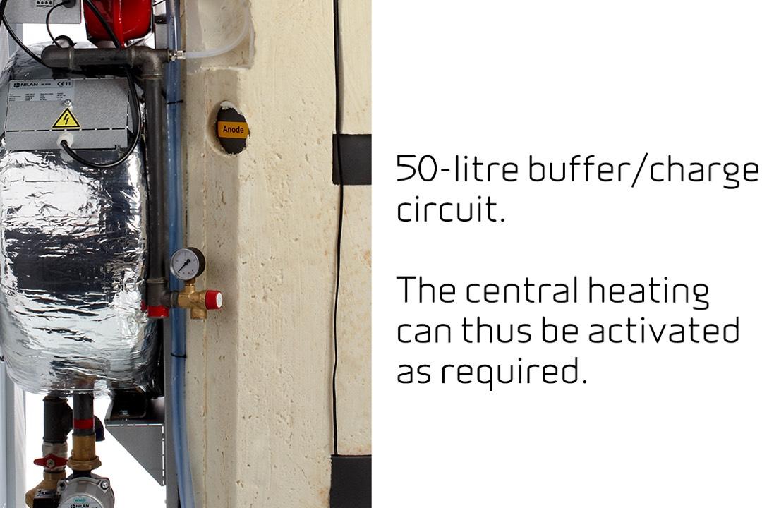 Compact P AIR - 50-litre buffer