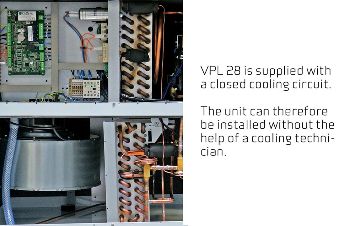 Nilan VPL 28 koeling