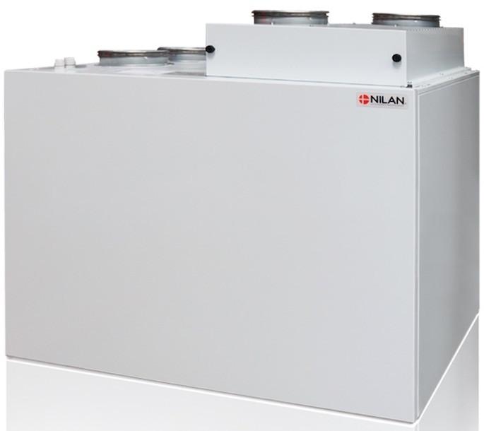 Nilan Combi 302 Top ventilatie warmtepomp