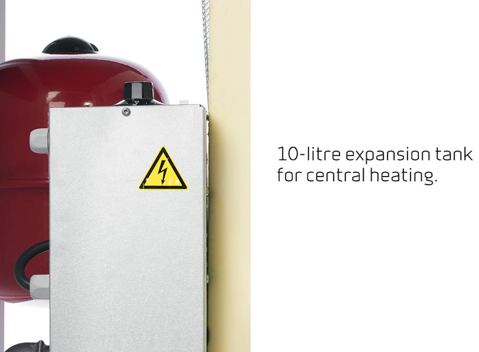 Compact P EK - 10-liter expansie vat