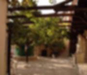 Kapsa Monastery court yard