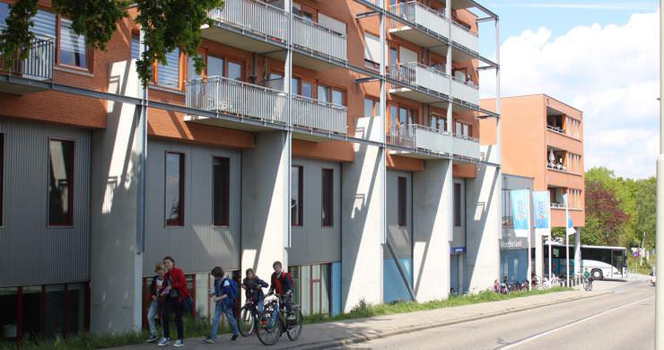 Appartementen voorzien van Nilan klimaatsystemen.