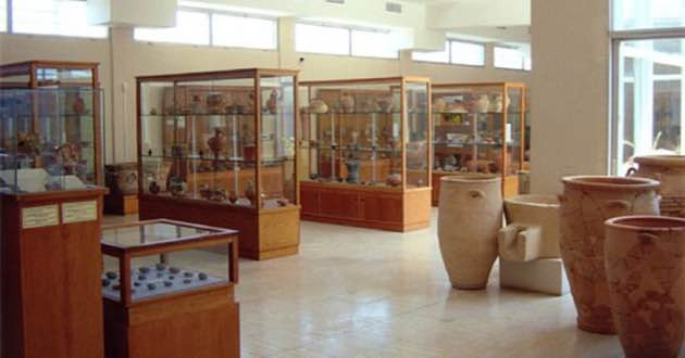 Exhibition Archaeological Museum in Sitia.