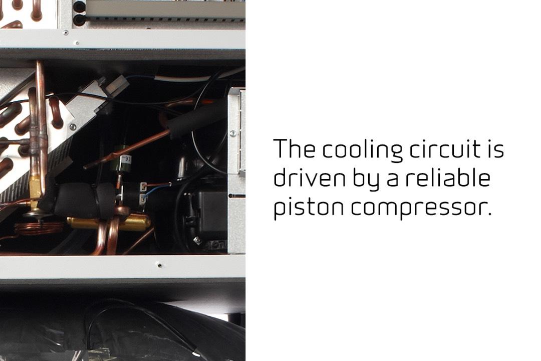 Warmtepomp VP 18 compressor