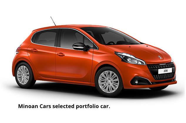 Minoan Cars selected car.