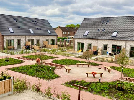 Compact P voor 14 woningen in Sint Jansklooster.