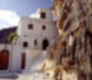 Kapsa Monastery entrance