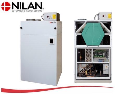 Nilan Combi S ventilatie warmtepomp