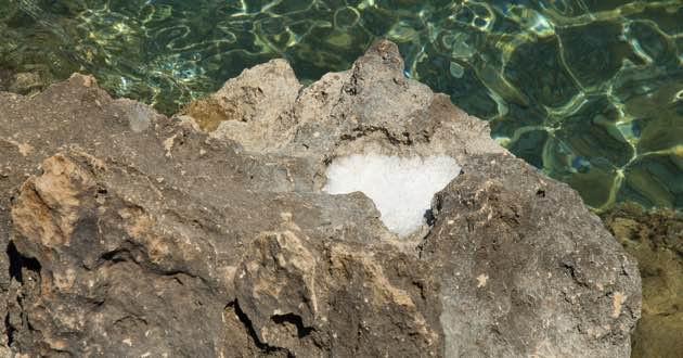 Sea Salt in East Crete.