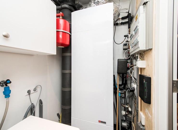 Ventilatie warmtepomp appartementen