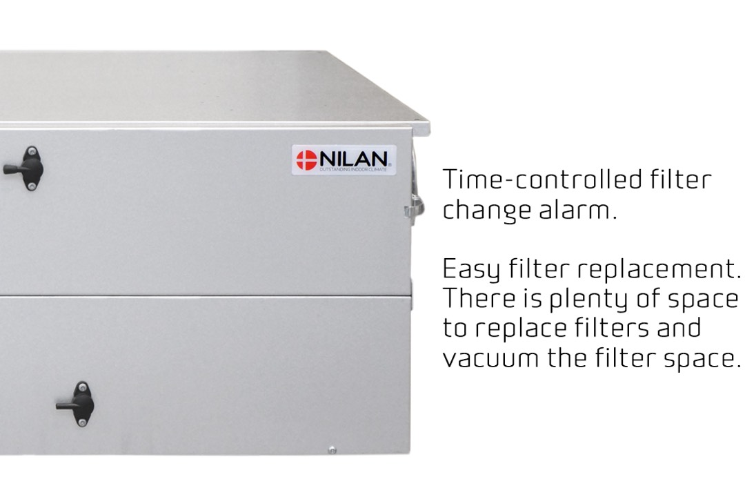 Nilan Comfort CT200 filters