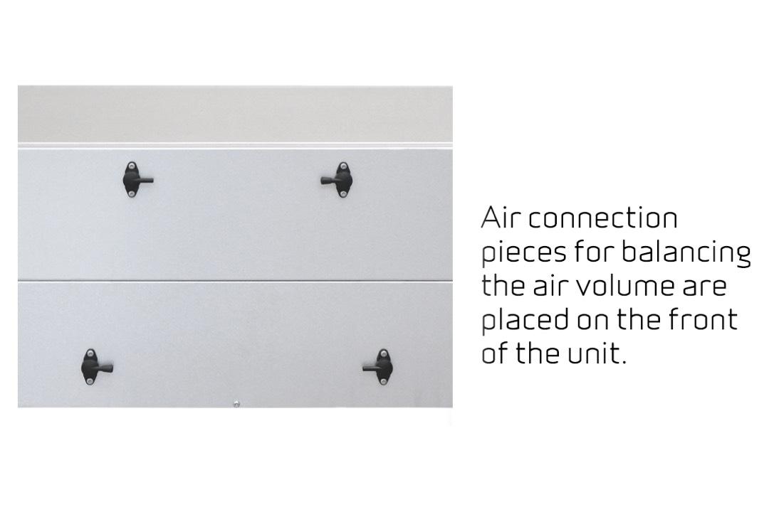 Nilan Comfort-CT150 luchtbalans