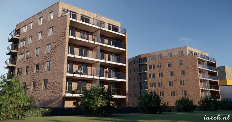 Ventilatie warmtepomp Appartementen in Dronten