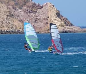 Windsurfing Kouremenos