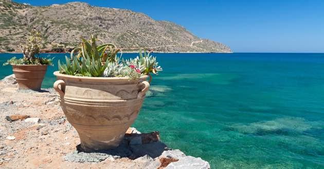 Bay in Eastern Crete.