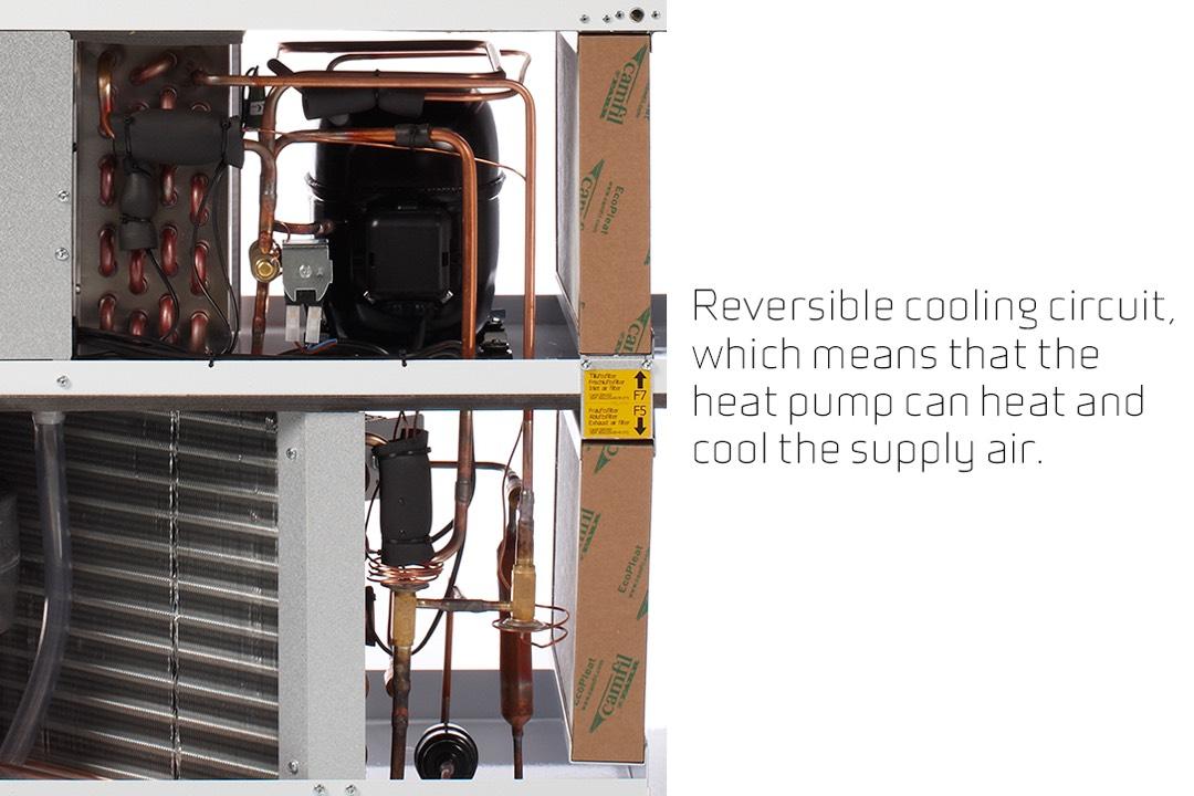 Nilan VPL 15 top koeling en verwarming