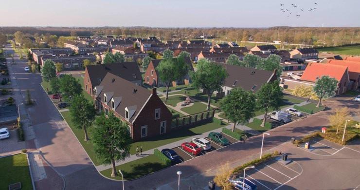 Energiezuinige woningen in Sint Jansklooster