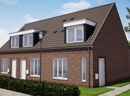 Compact P Ventilatie Warmtepomp voor 3 woningen in Wapenveld.